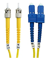 Belkin Singlemode Duplex Fiber Patch Cables are 100  tested for quality and reliability and feature Corning glass and superior construction.