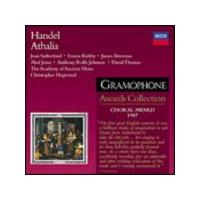 George Frideric Handel - Athalia (Hogwood, AAM) (Gramophone Awards Collection) (Music CD)