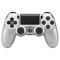 Sony Dualshock 4 Wireless Controller - Wireless - Bluetooth - Usb - Playstation 4 - Silver 711719504320