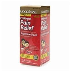 Good Sense Children's Acetaminophen Oral Suspension (Cherry) 4 fl oz