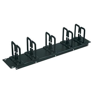 Tripplite Srcablering2u Rack Enclosure Cabinet Horizontal Cable Ring Flexible 2urm - Rack Cable Management Kit (horizontal) - Black - 2u - 19