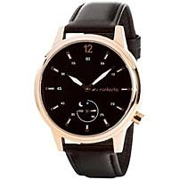 "Runtastic Moment Classic - Activity Tracker - Wrist - Calories Burned - Bluetooth - 0.94"" - 0.59"" - 1.65"" - Rose Gold, Black - Glass, Mineral Crystal - Stainless Steel Case - Leather Band - Health & Fitness - Water Proof - Glass, Mineral Crystal Runmocl2"
