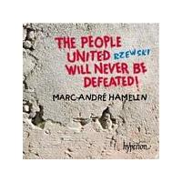 Marc-Andre Hamelin - Rzewski/The People United Will Never... (Music CD)