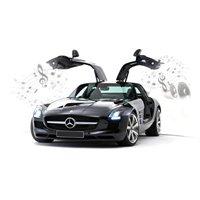 Silverlit Interactive Bluetooth Mercedes-benz Sls Amg By Silverlit