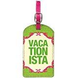 Santa Barbara Design Studio Naughty Betty Luggage Tag, Vacationista