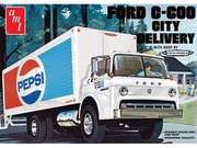 Amt 1/25 Ford C600 Pepsi City Delivery Truck Model Kit - 804 (new! - Arrives In August)