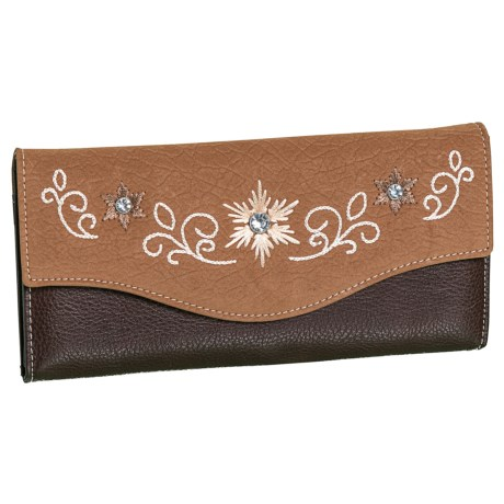 Jodie Leather Clutch (for Women)