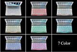 7 Color Backlit Slim Aluminum Bluetooth Keyboard Case Cover for iPad Air iPad 5