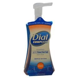 Dial U-BB-1819 Original Scent Antibacterial Foaming Hand Wash - 7.5 oz - Liquid Soap