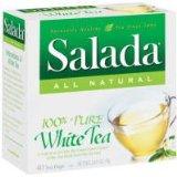 Salada 100% Pure White Tea -- 40 Tea Bags