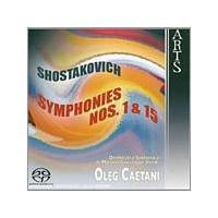 Dmitri Shostakovich - Symphonies Nos. 1 And 15 (Music CD)