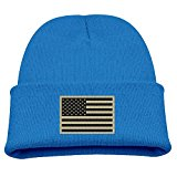 Subdued Us Flag Tactical Beanies Cap For Infant