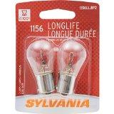 SYLVANIA 1156 Long Life Miniature Bulb, (Pack of 2)