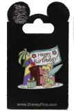 Disney Pin #72683: WDW DLR - Happy Birthday! - Tinker Bell with Cake and Presents