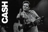 NMR 33412 Johnny Cash Decorative Poster