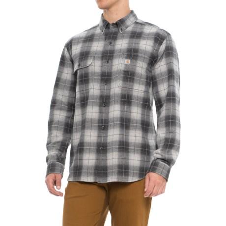 Beartooth Flannel Plaid Shirt - Long Sleeve (for Men)