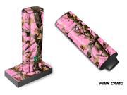 Designer Decal For Ploom Pax Vape - Pink Camo