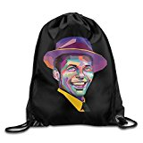 Drawstring Backpack Bag Frank Sinatra