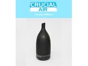 Crucial Essential Oil Diffuser: Therapeutic Grade, Sleek, Ceramic, Heat-free Advanced Wellness Spa Mist Aromatherapy Nebulizer