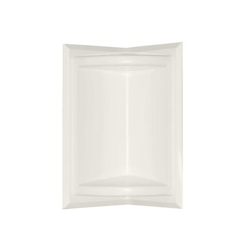 Swanstone Ss07211.018 Corner-mount Solid Surface Soap Dish In Bisque