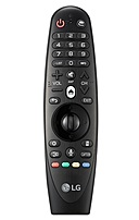 The LG Electronics AN MR600 Magic Remote Control with Voice Mate is compatible for UF7700, UF8500, UF9400, UF9500, EF9500, EG9600, EF9800, LF6300 smart TV.