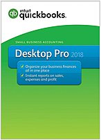 Intuit 028287064164 Quickbooks Desktop Pro 2018 Accounting Software Program