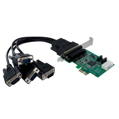 Startech.com Pex4s952 4 Port Native Pci Express Rs232 Serial Adapter Card With 16950 Uart - Pcie Rs232 Serial Card