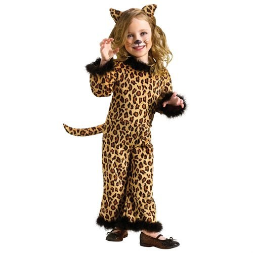 Pretty Leopard Toddler Halloween Costume