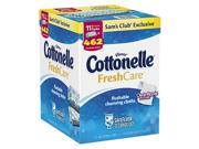 Kleenex Cottonelle Freshcare Flushable Cleansing Cloths,11 Pk.42 Ct.