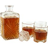 Bormioli Rocco Selecta 7-Piece Whiskey Gift Set, Standard Packaging