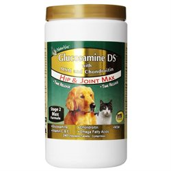 NaturVet Glucosamine DS with Chondroitin MSM (240 Chewable Tablets)