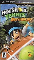 Sony 711719870128 Hot Shots Tennis: Get A Grip For Psp