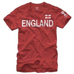 England FIFA 2014 World Cup Soccer Bold Across Men's Dual Blend T-Shirt