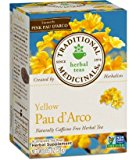 Traditional Medicinals Teas Pau d'Arco Herbal Tea, 16 Wrapped Tea Bags