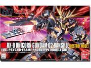 Gundam HGUC 134 Unicorn Gundam 02 Destroy Mode 1/144 Scale