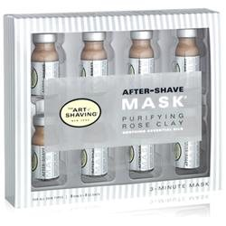 The Art Of Shaving After-Shave Mask Purifying Rose Clay Essential Oil Blend