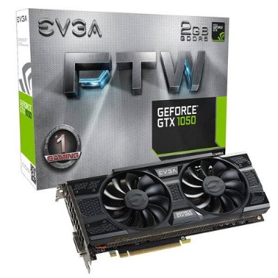 Evga 02g-p4-6157-kr Geforce Gtx 1050 Ftw Gaming Graphic Cards Acx 3.0  2gb Gddr5  Dx12 Osd Support (pxoc)