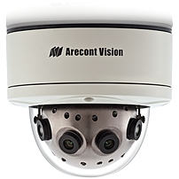 The AV12186DN SurroundVideo reg  series network camera is WDR  wide dynamic range , dual encoder  H.264  amp  MJPEG , 12 Megapixel resolution, 180 degree panoramic Day Night IP camera, designed to provide an all in one solution with integrated four 3 megapixel WDR sensors, four 5.4mm M12 lenses, IK 10 vandal resistant dome and housing, rated IP66 for water and dust protection