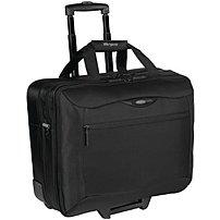 Targus Tcg717 Rolling Travel Nylon Case For 17-inch Notebooks - Black