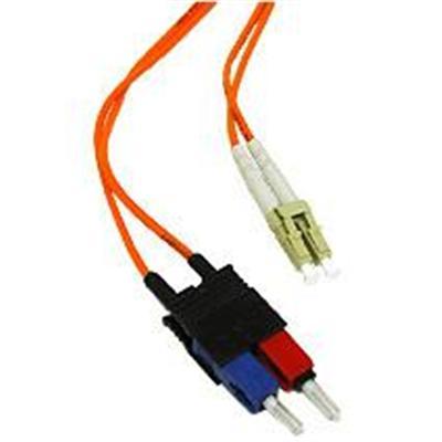 Cables To Go 33016 3m Lc-sc 50/125 Om2 Duplex Multimode Pvc Fiber Optic Cable - Orange - Patch Cable - Lc Multi-mode (m) - To - Sc Multi-mode (m) - 10 Ft - Fibe