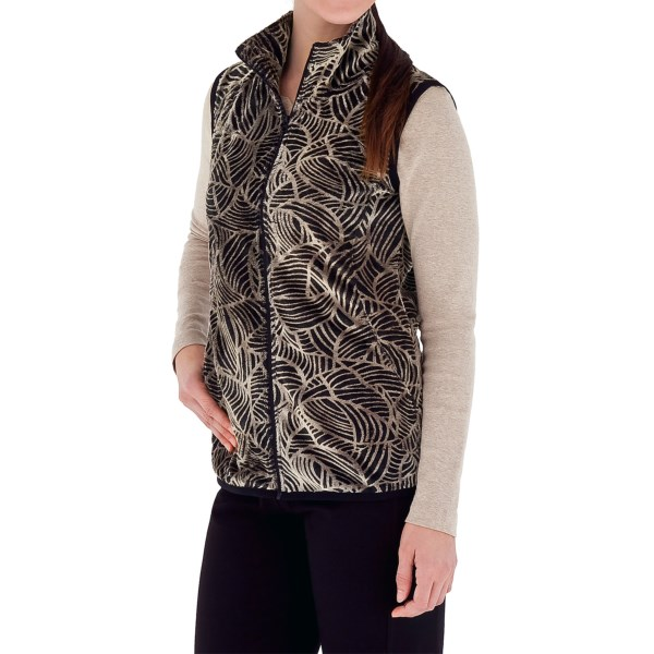 Royal Robbins Moon Dance Vest - UPF 50 , Velvet Fleece (For Women)