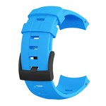 Suunto Ambit3 Vertical Silicone Strap-blue Replacement / Spare Strap
