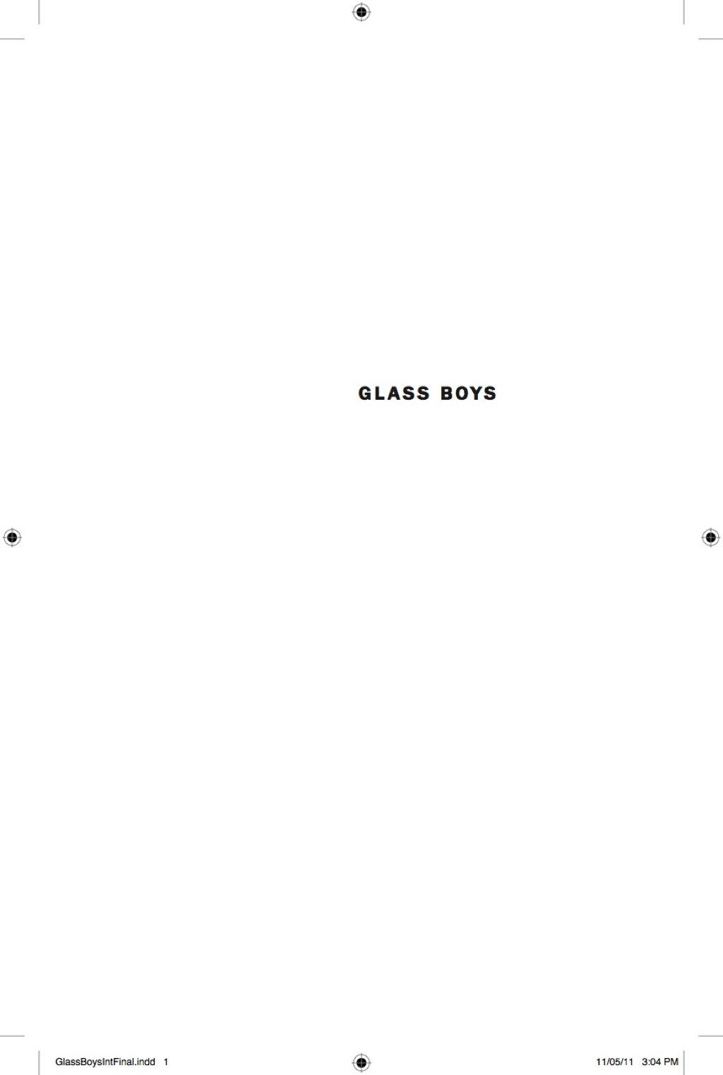 Glass Boys (ebook)