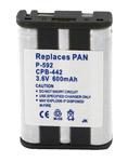 Panasonic Battery For Panasonic P592 Replacement Battery