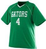 Augusta Sportswear 215 Youth's Striker Jersey Kelly/White Large