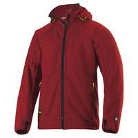 Snickers Mens Windstopper Fleece Jacket Chili Red XS