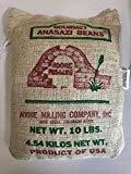 adobe milling Anasazi Beans 10 lb burlap bag