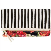 Pablo Foldover Clutch -- Mixed Prints By Indigo