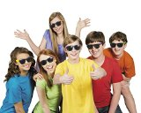 Fun Express Child Neon Sunglasses,  6 assorted colors, Sold as package of 12.