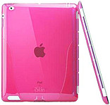 Iskin Solo Smart For The New Ipad And Ipad 2 - Ipad - Pink - Translucent - Polymer Id3slm-pk4